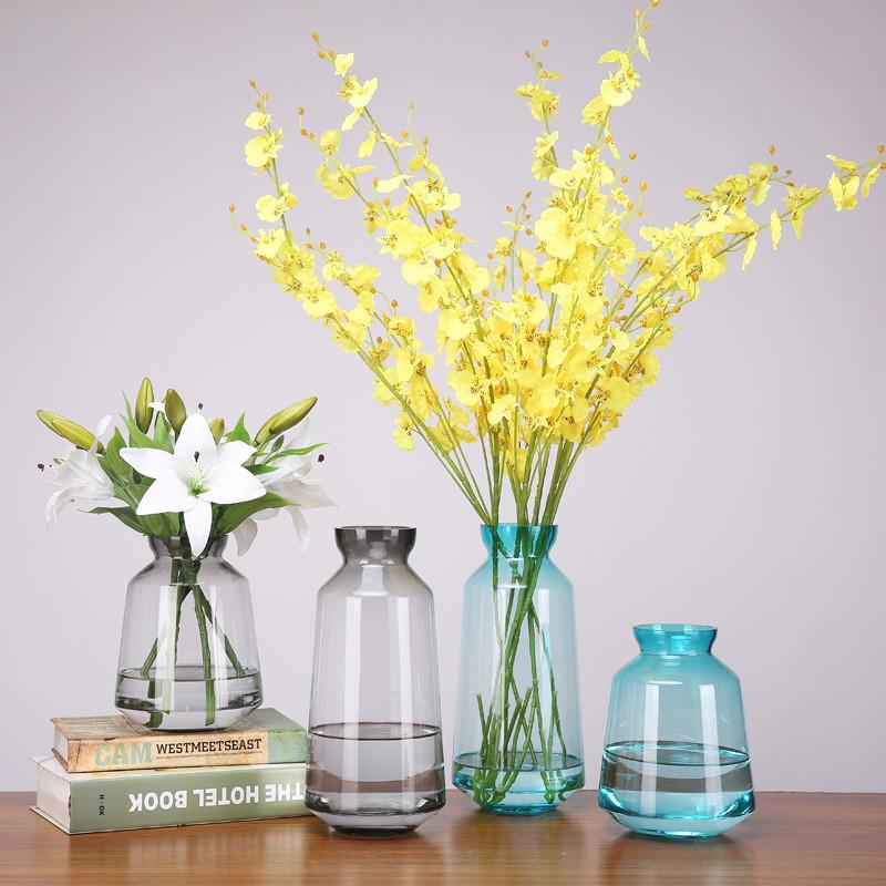 Lovely Romantic Flower Vase Heart Shape Home Office Decoration Porcelain Vase