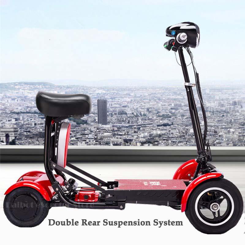 Daibot Four Wheel Electric Skateboard Portable Electric Scooters 10 Inch 36V Foldable Electric Scooter For DisabledElderly (54)