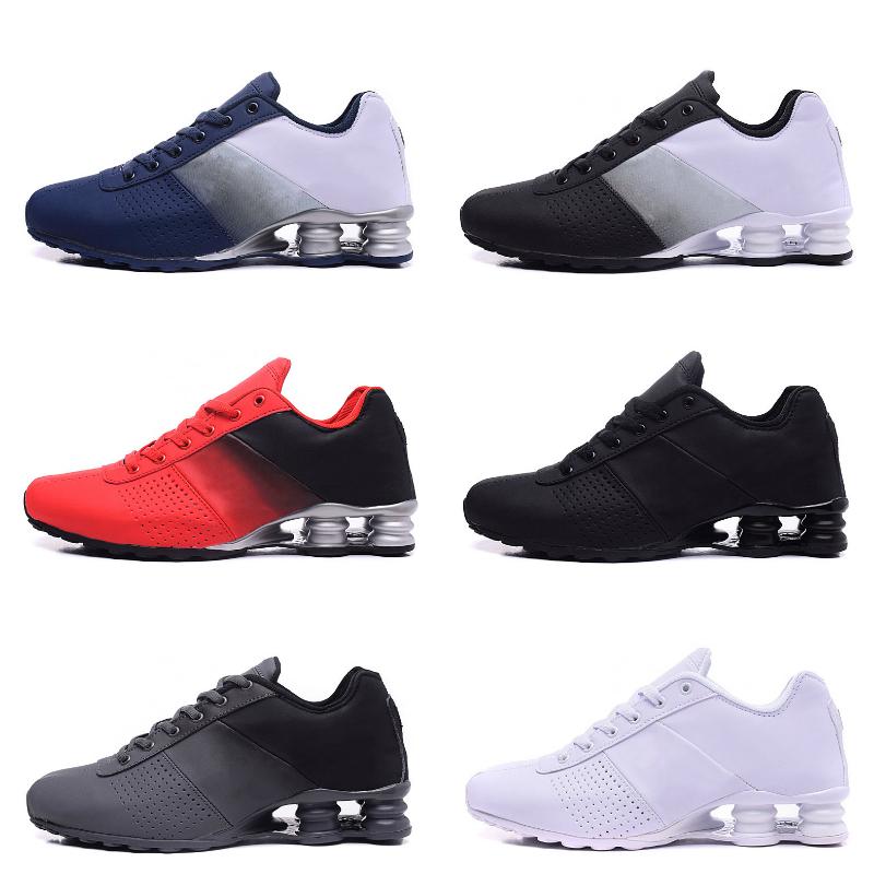 2020 New Shox Deliver 809 Chaussures de course célèbre LIVRER OZ NZ Hommes Athletic Chaussures Noir Blanc Augmenté de sport de coussin d'air