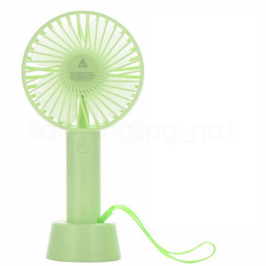 LYCXIAO Ventilador port/átil de Mano USB Recargable Mini Ventilador Plegable Viaje al Aire Libre Oficina en casa Escritorio silencioso Fan-F