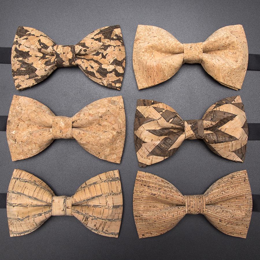 Novelty Men Women Wood Bow Tie 3D Butterfly Wood Wooden Bowties Neckties F7