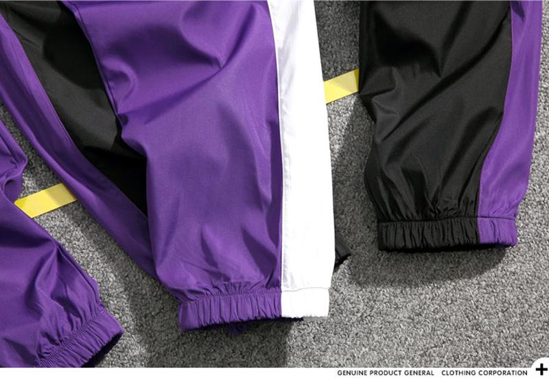 Loose Hip Hop Cargo Pants Men Camouflage Patchwork Harem Mens Trousers Streetwear (37)
