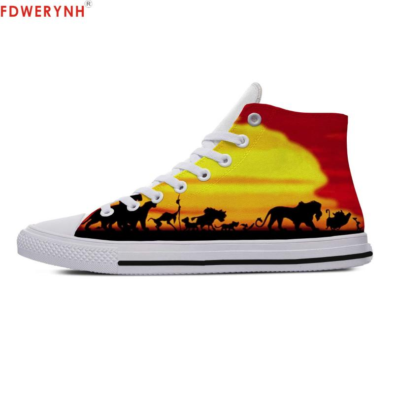 3D Printed Fly Knit Animals Kings Sneaker Shoes Canvas for Kids