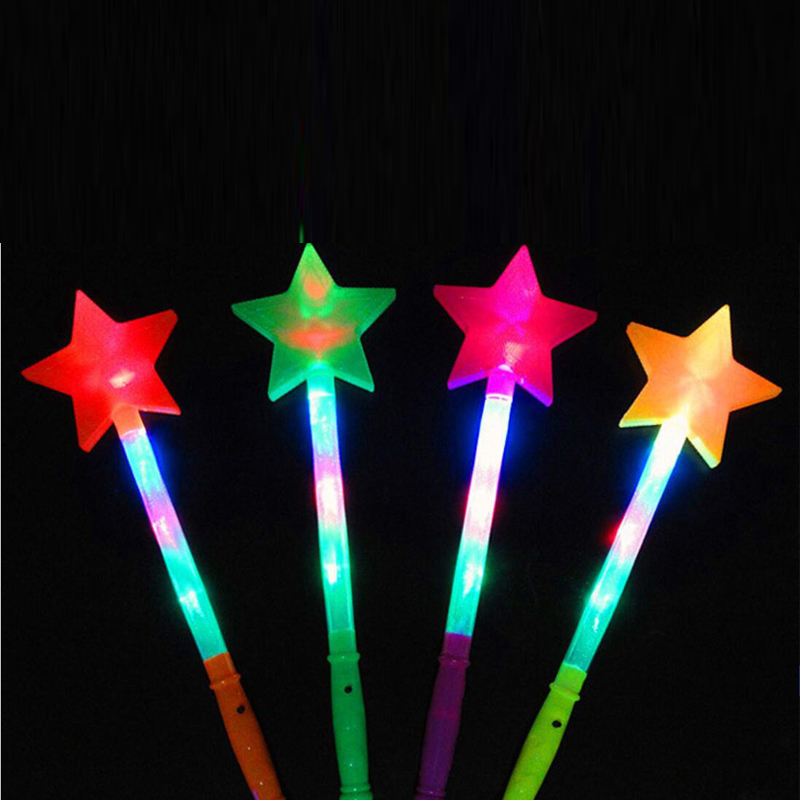 Led Sticks Star Love Heart Projection Glow Stick Light-Up Wands Festival Wedding Party Christmas New Year Led Party Supplies (11)