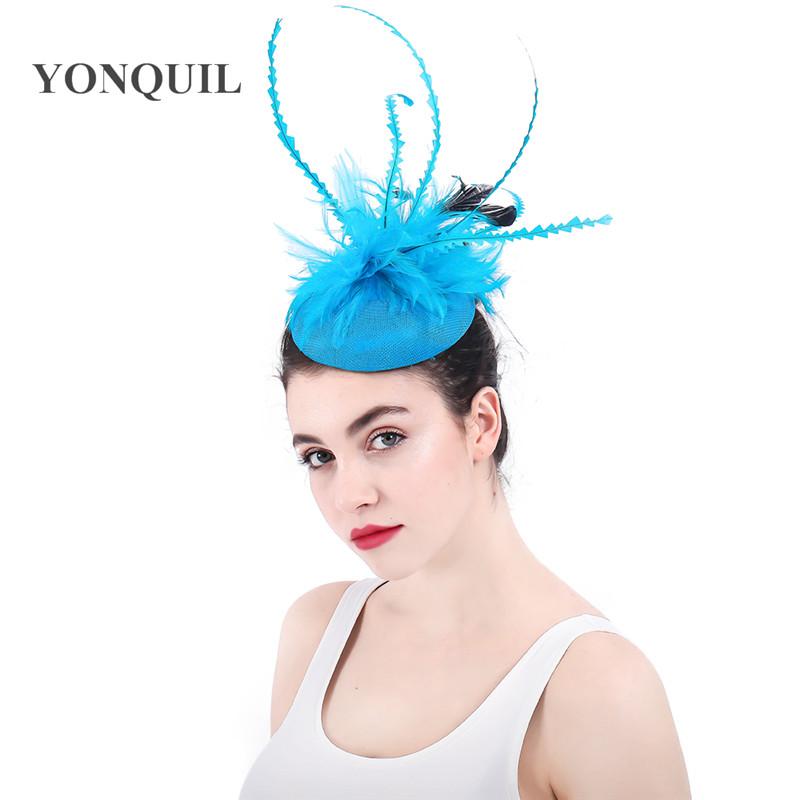 Frauen stilvolle Feder Haarnadel Haar Clip Tanz Party Hairwear Maskerade