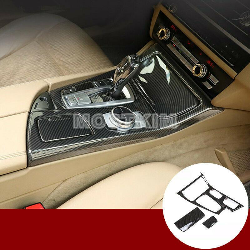 Exterior Door Handle Cover Trim 4pcs For BMW 5 Series F10 F11 2011-2016