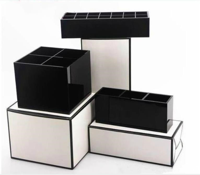 2019New classic high-grade Acrylic Toiletry Storage Exquisite Box Cosmetic Accessories Storage Cosmetic brush storage VIP gift