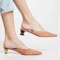 Candy Color Women Flip Flops Wedges Shoes Cute Cartoon Beach Sandals Slippers Metal Chains Decor Fashion Summer Slides Shoes