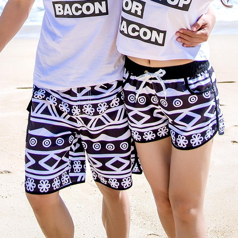 Mens Soft Hawaii Beach Camper Classic Beach Shorts Swim Trunks Board Shorts