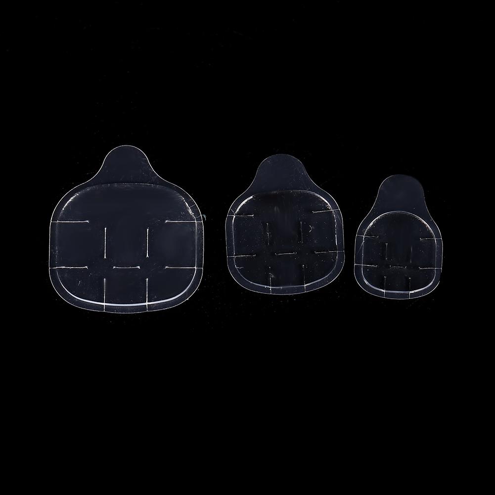 Nouvelle marque 50 feuilles / double face ongles autocollants adhésif colle autocollant effacer ruban adhésif faux ongles autocollant colle manucure outils