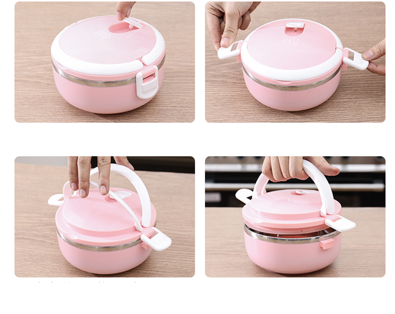 304 stainless steel multi-layer insulated lunch box 39