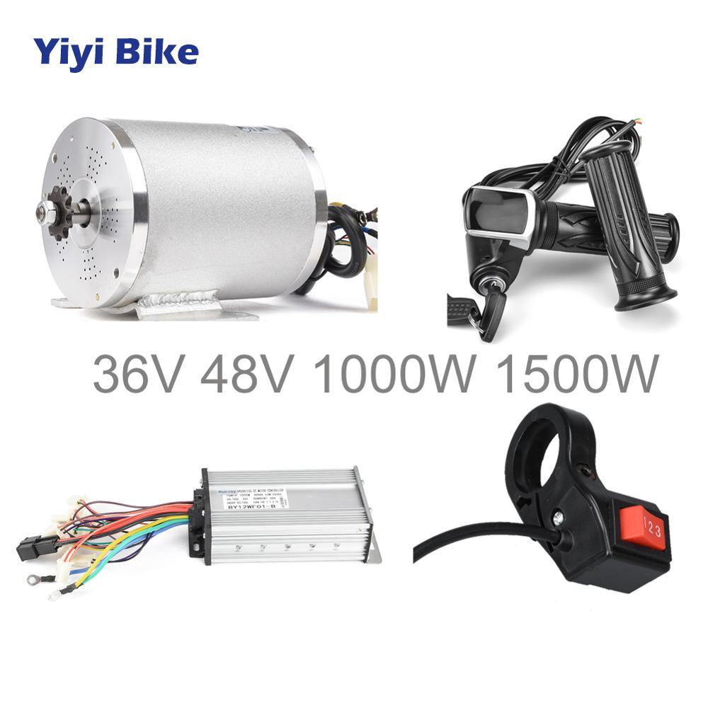 Controllore di motori Brushless Motor Controller biciclette Hub Motor Hall sensore Controler elettrico veicolo elettrico 24V36V48V 250W350W
