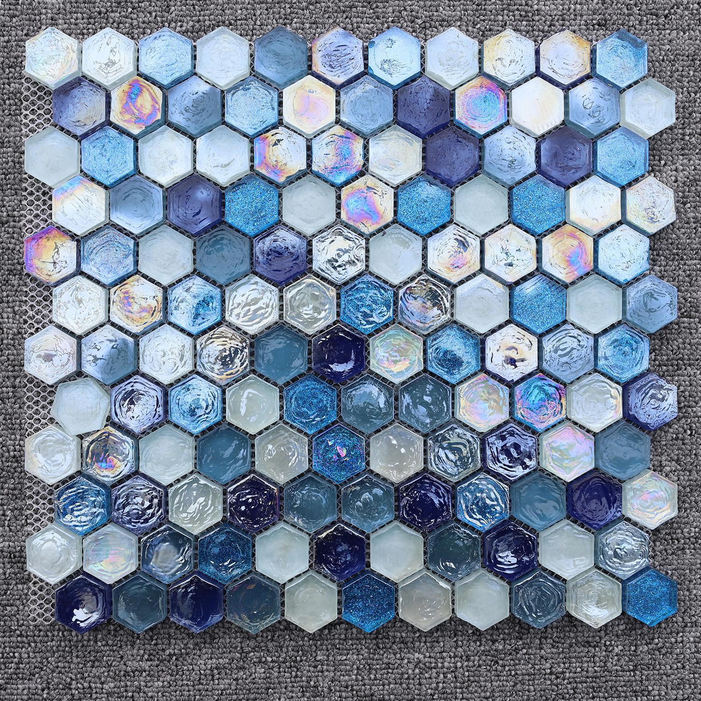 Salle De Bain En Mosaique Bleue Distributeurs En Gros En Ligne Salle De Bain En Mosaique Bleue A Vendre Dhgate Com