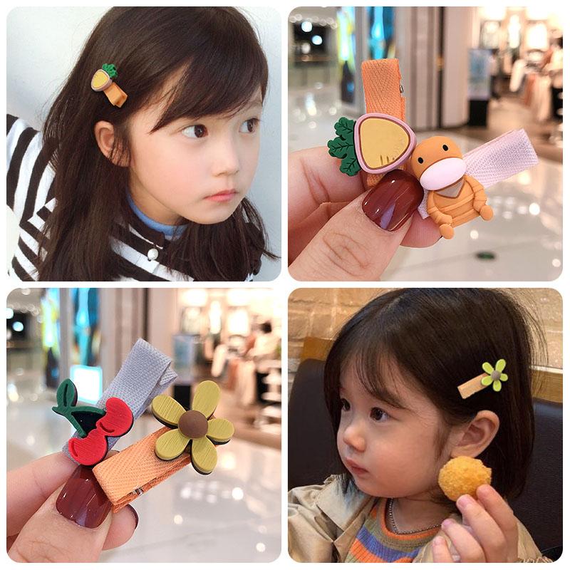 10pcs Cartoon Candy Color Hair Band Headwear kids Girl Hair Accessoriess Gift HC