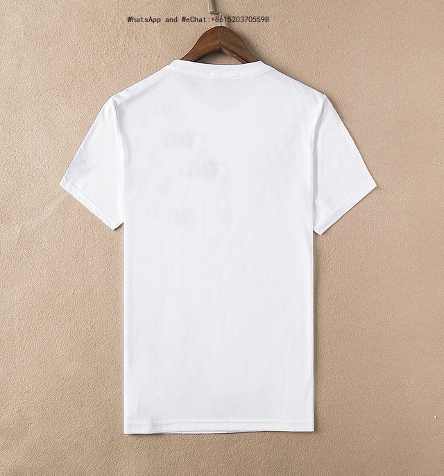 Summer Fashion High Quality Tide Man Short Sleeve T-shirt Round Collar Printing Young Male Clothes 2019-2