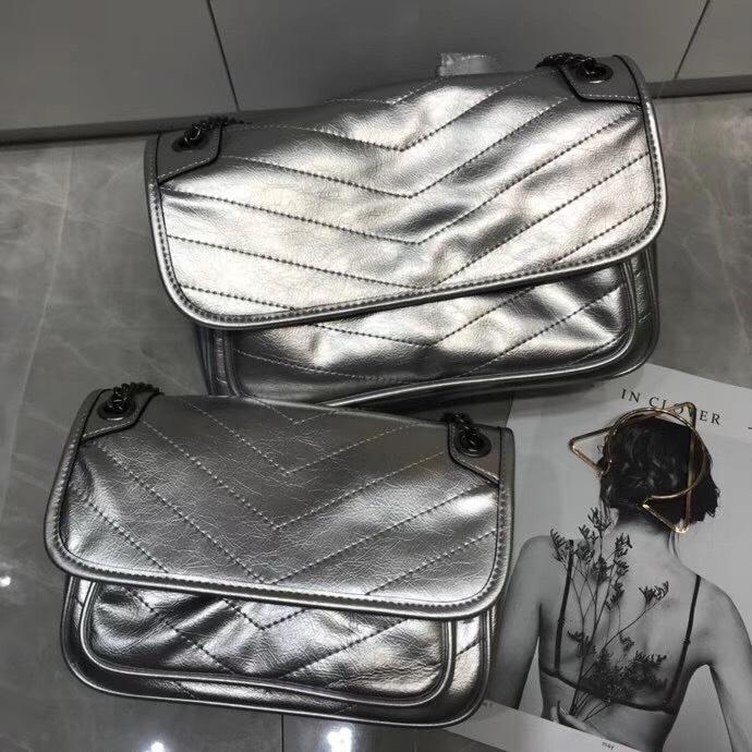Charm2019 And America Fashion Major Suit Genuine Leather Woman Niki Flip Over Fold Single Shoulder Skew Postman Tassels Package