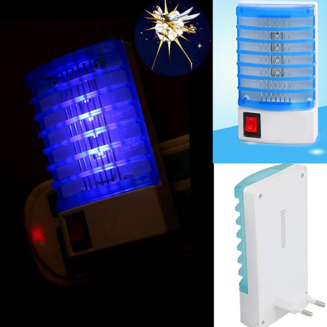 New LED Socket Electric Mosquito Fly Bug Insect Night Lamp Killer Zapper New Insect Zappers