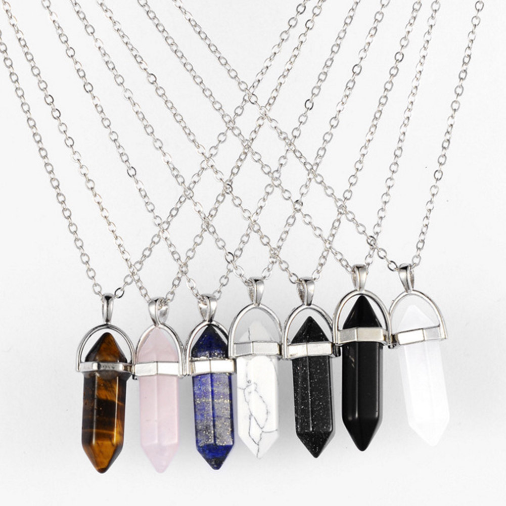 CS-DB Mother/&Child Elephant Pattern Crystal Silver Necklaces Pendants