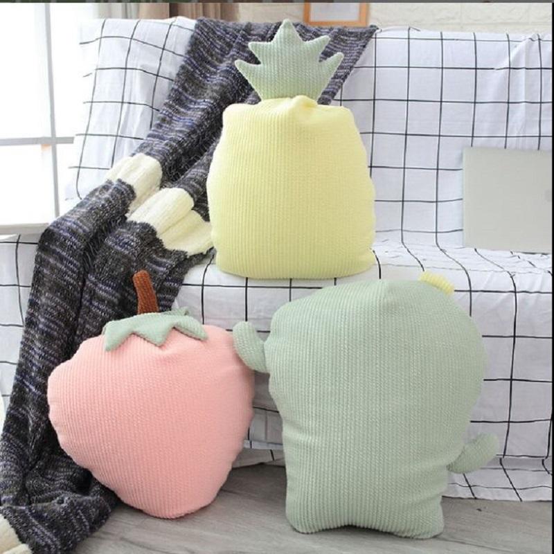 Hot Creative 3D simulação Sorvete Sofá Travesseiro Almofada De Pelúcia Brinquedo macio