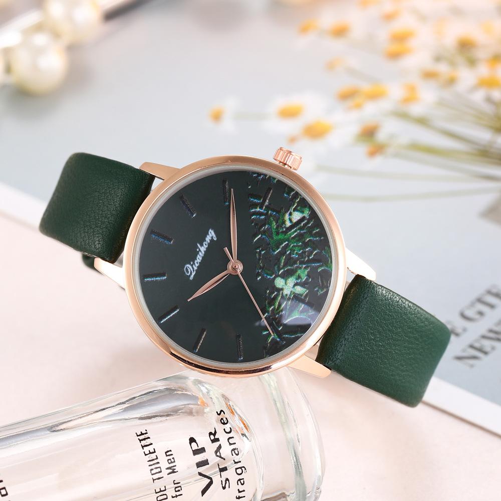 Selling Creative Flowers Female Fashion Watch Fashion Female Belt Quartz Watch