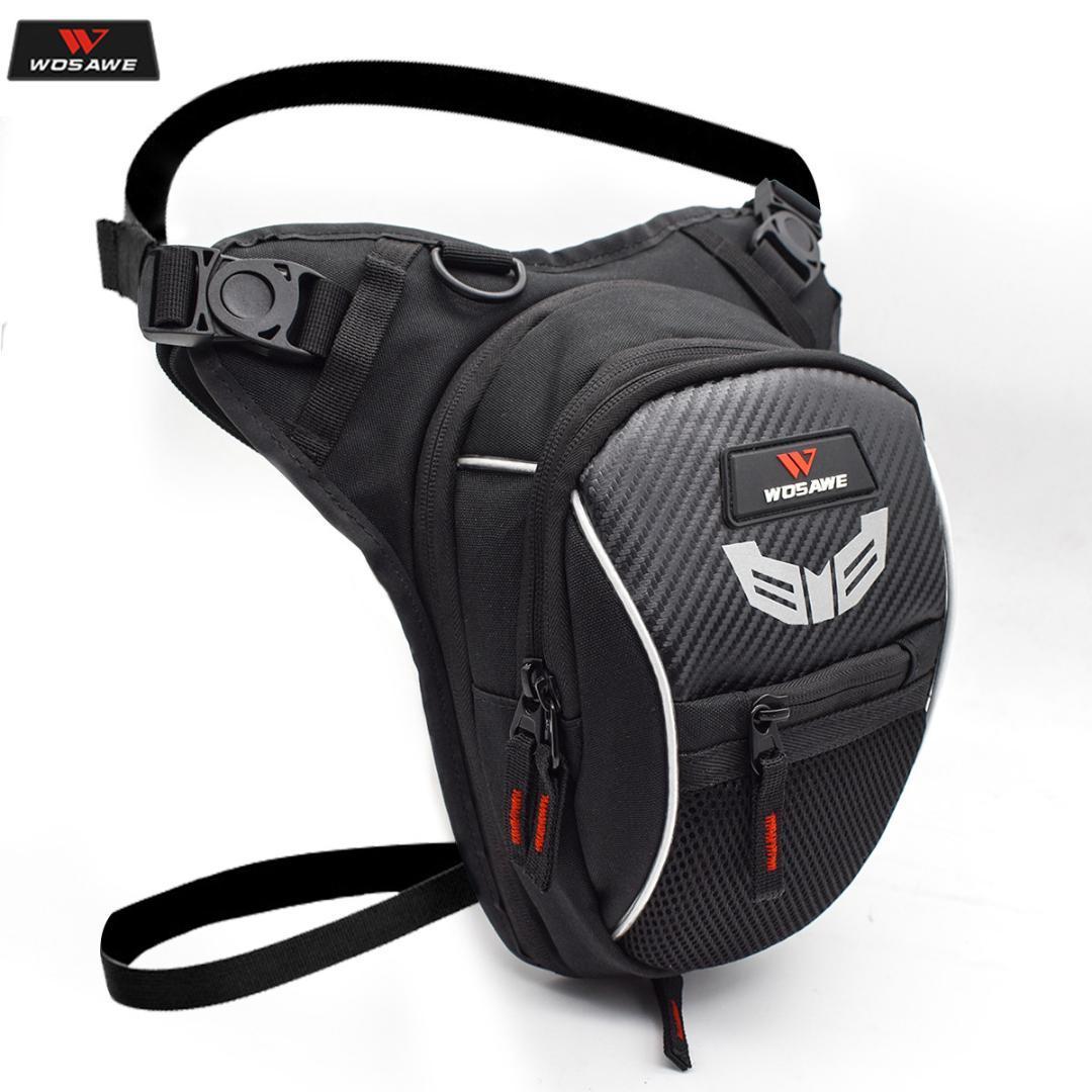 Color Name : Rot Motorrad Fanny-Pack Racing Beintasche Moto Radfahren Tactical H/üfttasche Airsoft Taktische Tropfen-Bein-Beutel Motorrad-Ritter G/ürteltasche