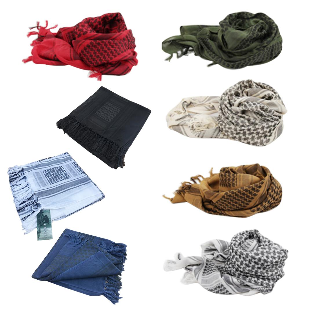 Unisex Army Military Tactical Shemagh Arab Scarfs Shawl Neck Cover Head Wrap US