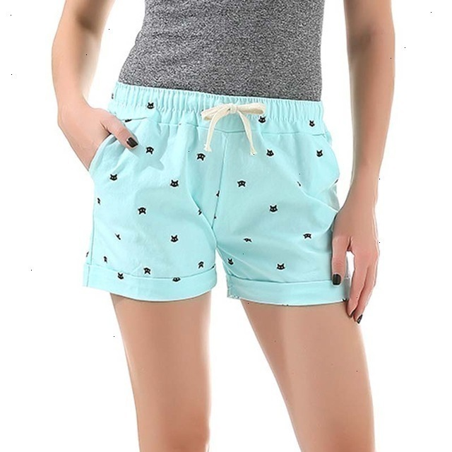 DANJEANER--New-Cotton-Women-s-Casual-Shorts-home-style-cat-s-head-candy-colored-Shorts.jpg_640x640