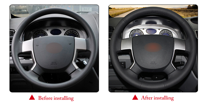 for Geely EMGRAND EC715 steering wheel cover