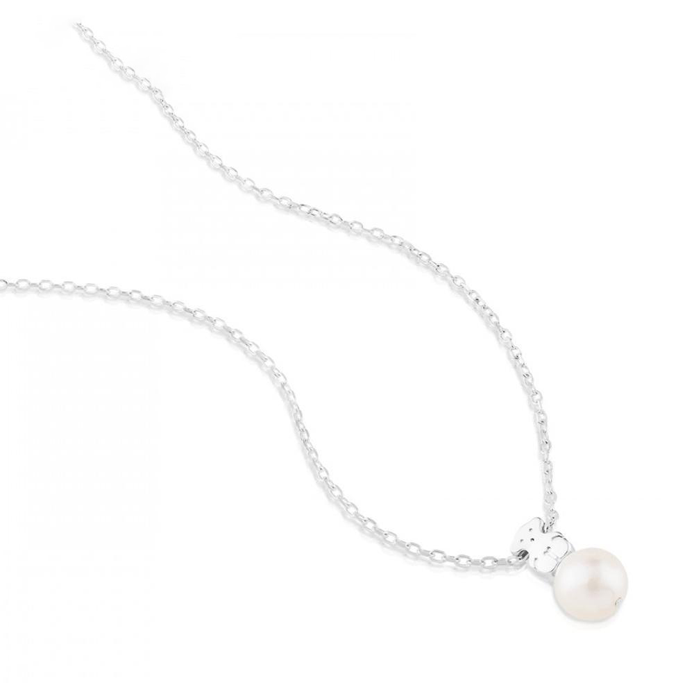 süß frauen schmuck heiß versilbert anhänger halskette Perle