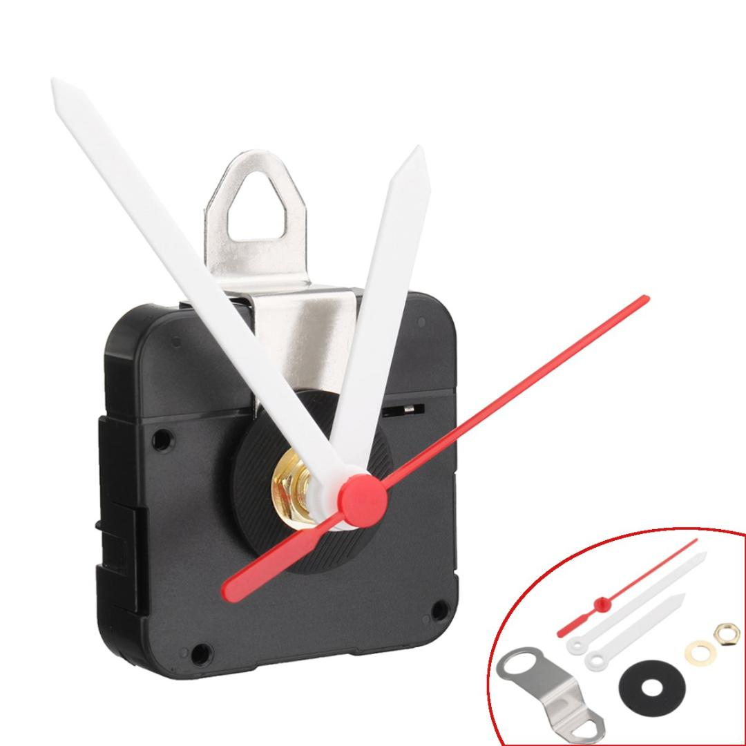 B3 Clock Movement White Hour Minute Red Second Hand DIY Tools Kit