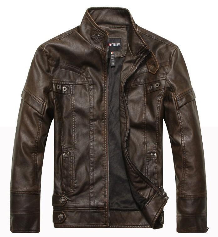 New Brand Motorcycle Leather Jackets Men ,mens Leather Jacket, Jaqueta De Couro Masculina,mens Leather Jackets Parka Xxxl