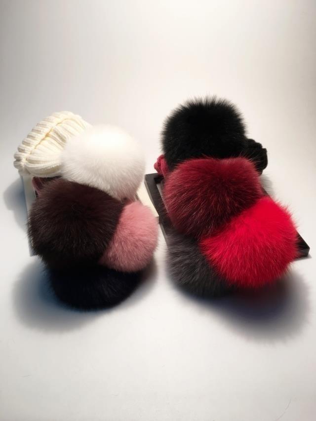 pompom hat fur hat winter hats for women knitted hat winter beanie hat women hat (26)
