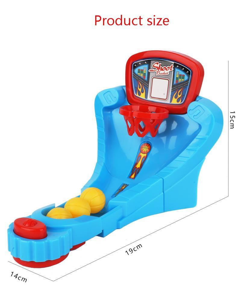 Kid Table Puzzle Games Toys Bounce Basketball Platform Parenting Mutual Action Mini- Shoot Children Leisure Time Shoot Machine