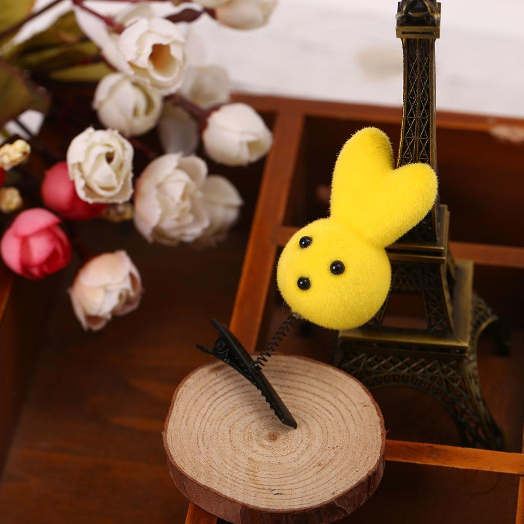 Women Girls Cartoon Cute Fleece Animal Pattern String Hair Clip Toy Gift Fashion New Clothing, Shoes & Accessories