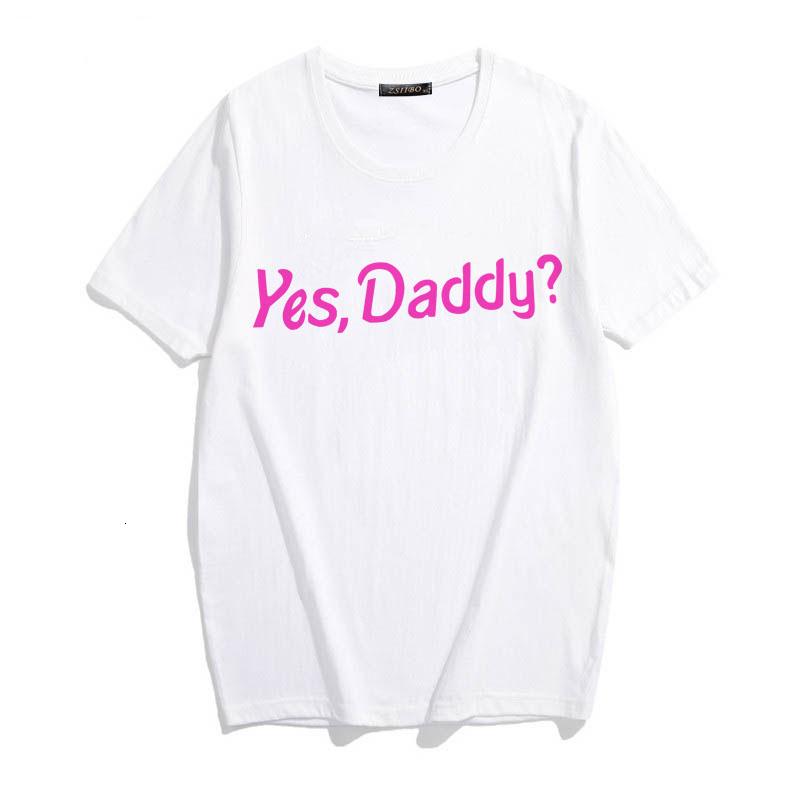 Shirt Tops Fashion T Satan Tumblr My Sugar Daddy filles Vêtements Esthétique sucre Kawaii bébé T-shirt décontracté Harajuku