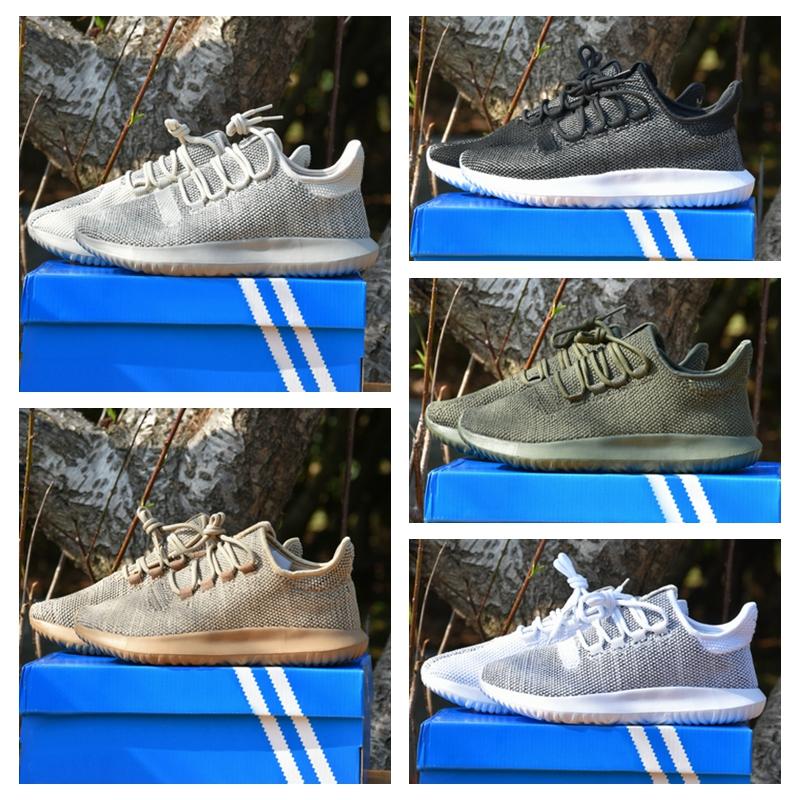 Adidas Originals Homme tubulaire Doom Chaussette PK Baskets Décontractées Baskets Chaussures-Gris