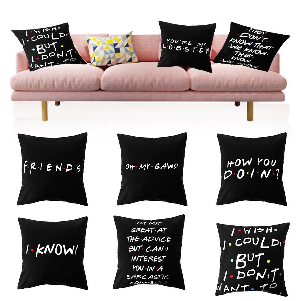 Résumé 3D Housse de coussin multicolore décoratif carré Bedding Throw Pillow Case