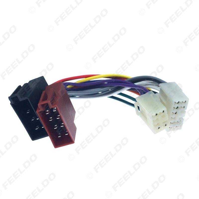 Toyota Land Cruiser Radio CD est/éreo Arn/és de Cableado Adaptador Cable Convertidor de ISO