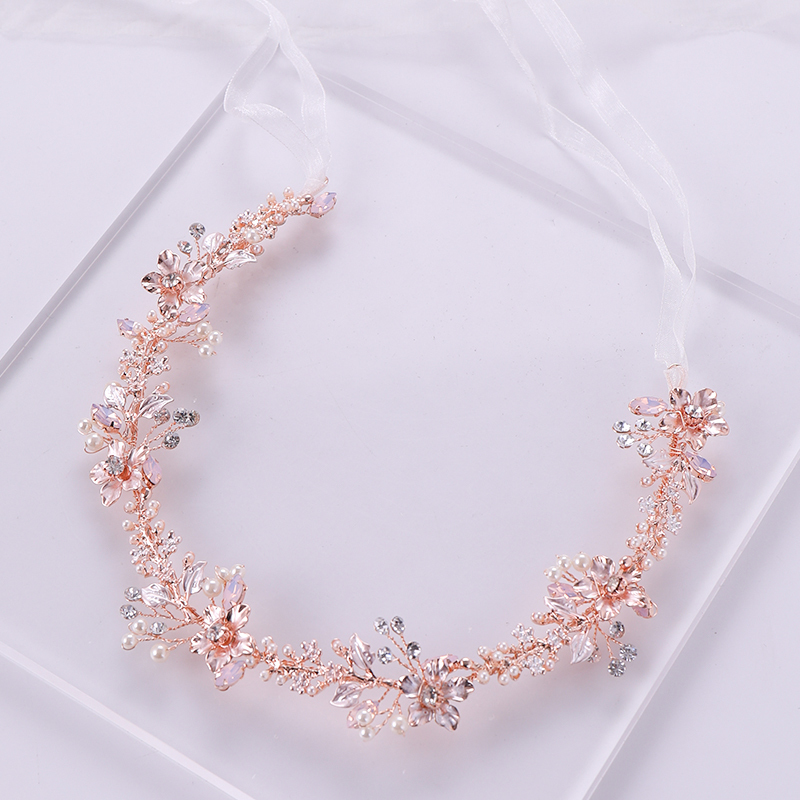 Rose Gold Hair Jewelry (2)