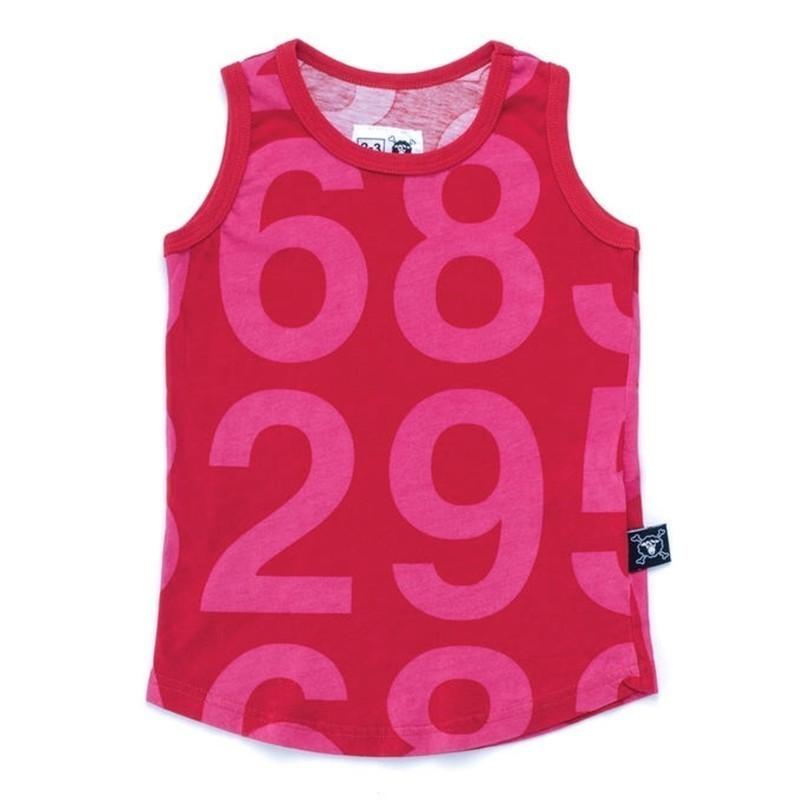 Çocuklar T Shirt 2019 Nunu Yaz Erkek Kız Kafatası Numarası Baskı Tankları Kolsuz T Shirt Bebek Çocuk Pamuk Tops Tees Giyim Y190518