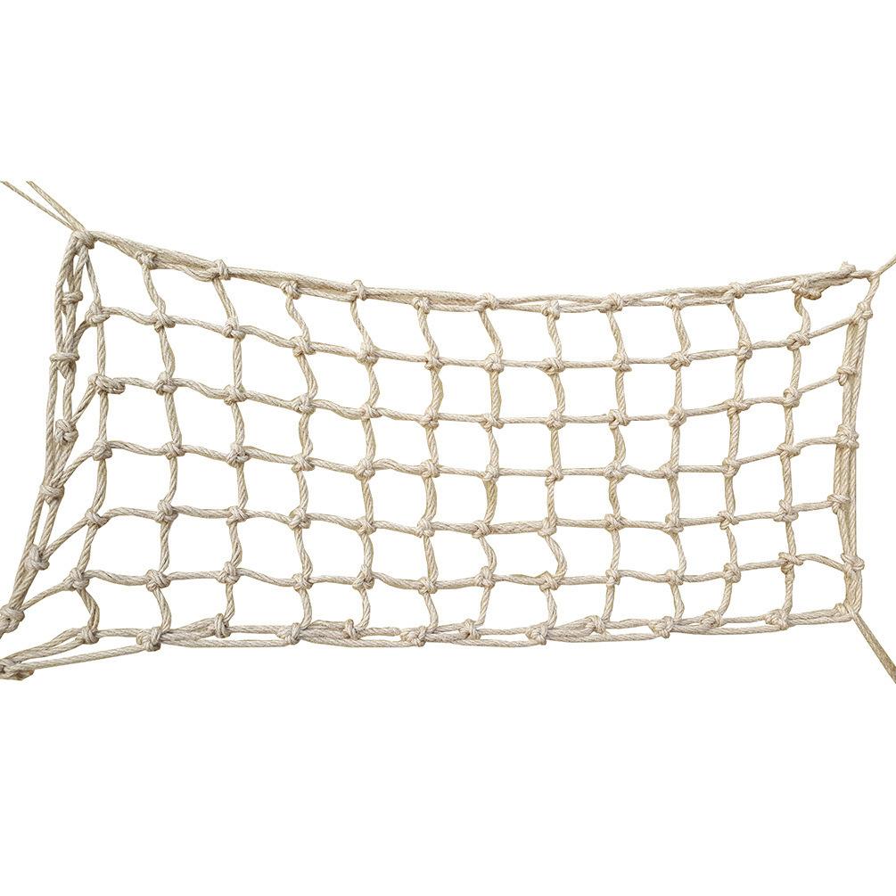 Büyük Papağan Kenevir Halat Ağ Papağan Oyuncakları Tırmanmaya 45 * 90 cm