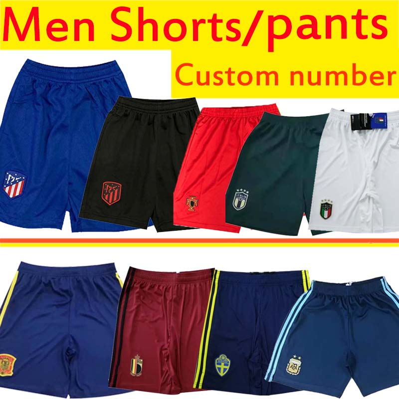 Maillots, shorts, pantalons des équipes de foot en Europe