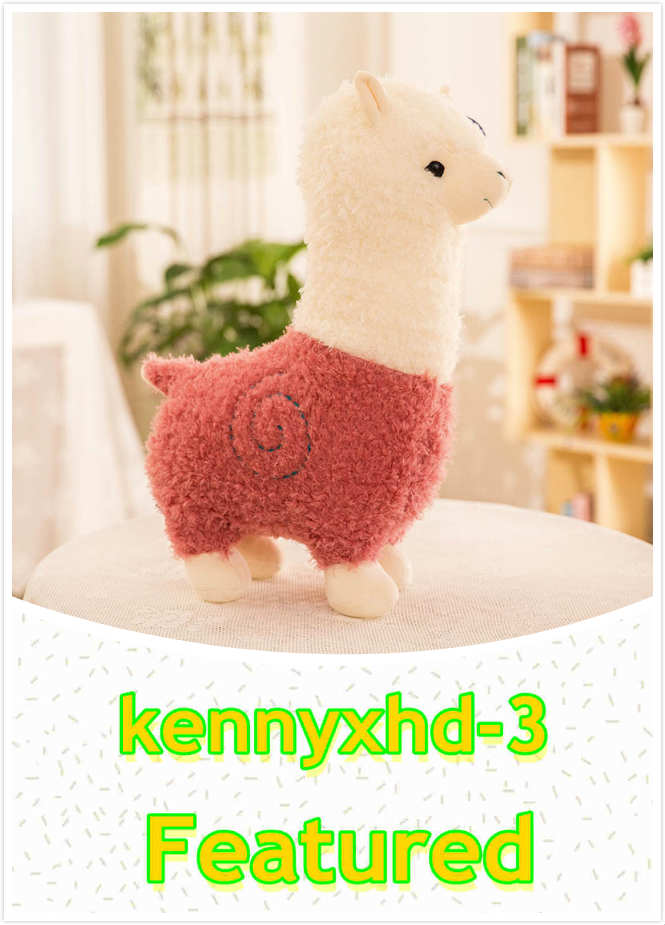 Nouveau cheval boue chiffon herbe oreiller peluche poupée poupée alpaca fille cadeau poupée enfant