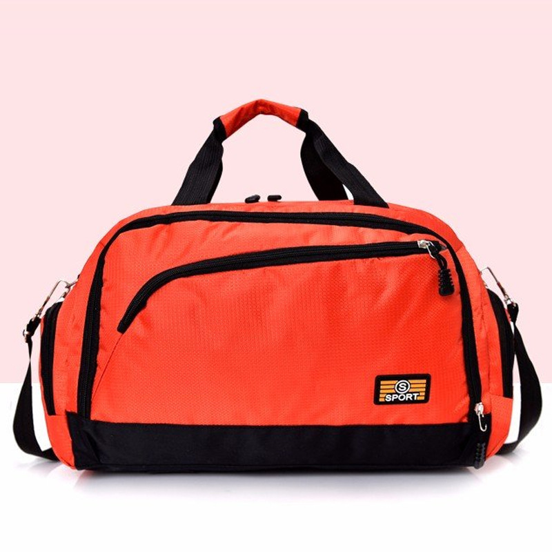 Laziness Sloth Sports Gym Bag with Shoes Compartment Travel Duffel Bag for Men and Women