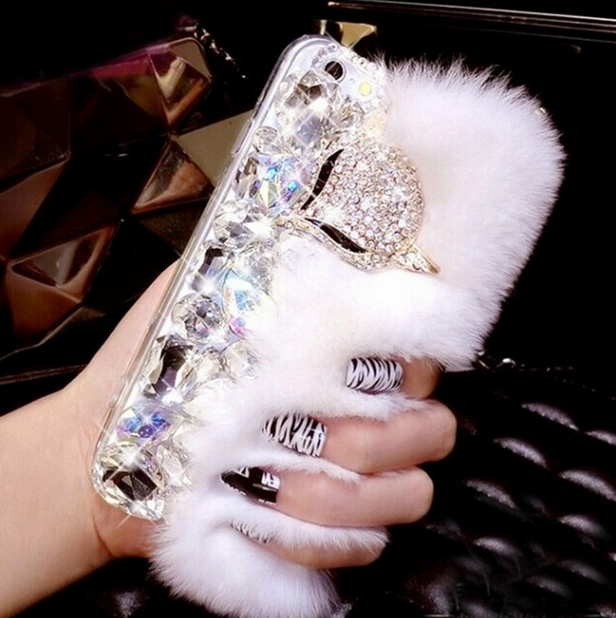 Big-diamond-Real-rabbit-fur-hard-cover-case-For-SamsungS3-S4-S5-S6-S6EPLUS-S7E-N3 (1)