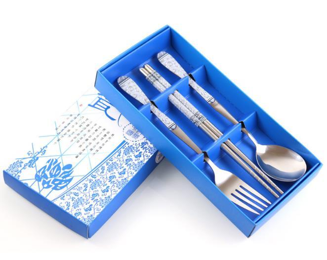 100sets-lot-Stainless-Steel-Spoon-Fork-And-Chopstick-Set-Metal-Tableware-Wedding-Gift-Souvenirs-Free-Shipping (3)