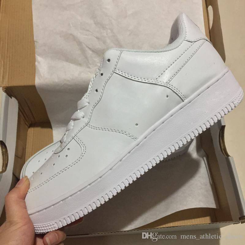 Hot 1 Fashion All High Low White Black Dunk Wheat Men Shoes Women Classical Sports Sneakers Breathable Designer Trainers Skate Shoe 36-45