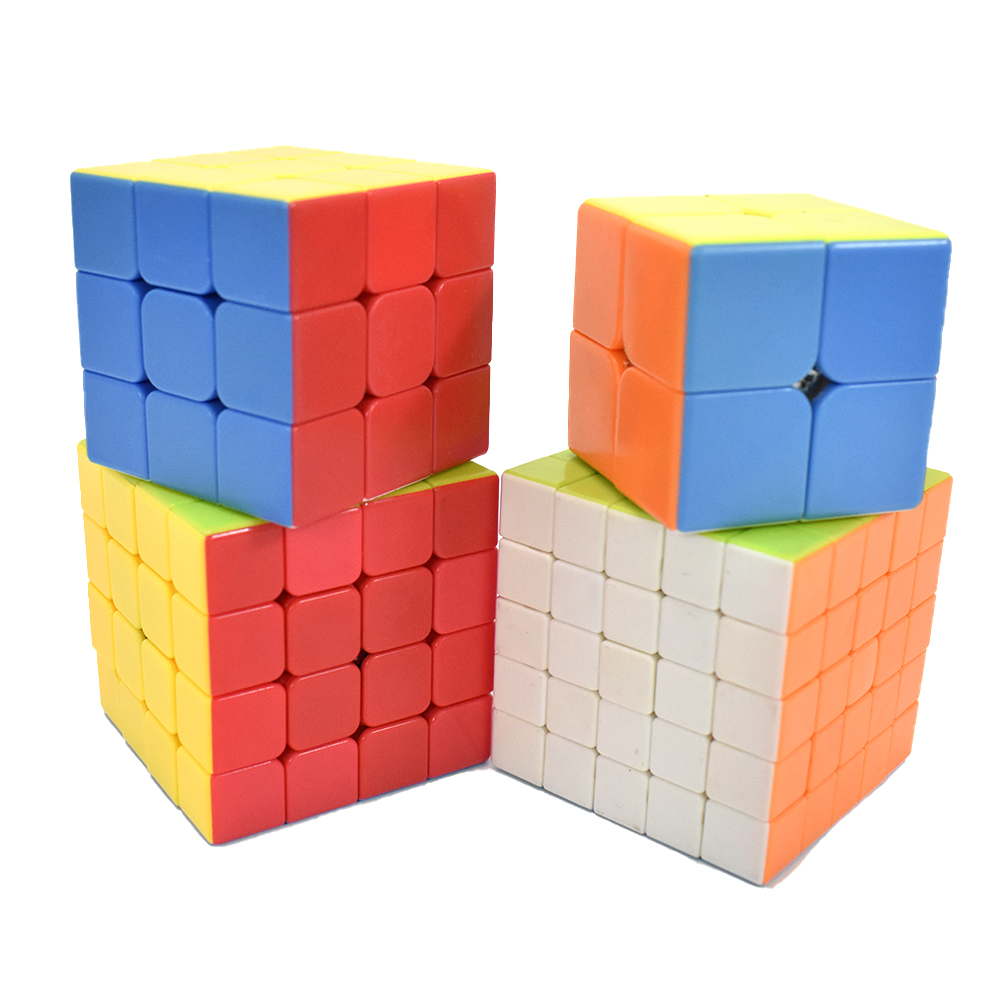 ShengShou Frosted 4x4x4 Magic Cube Puzzle Cube for Children Adults Gift White