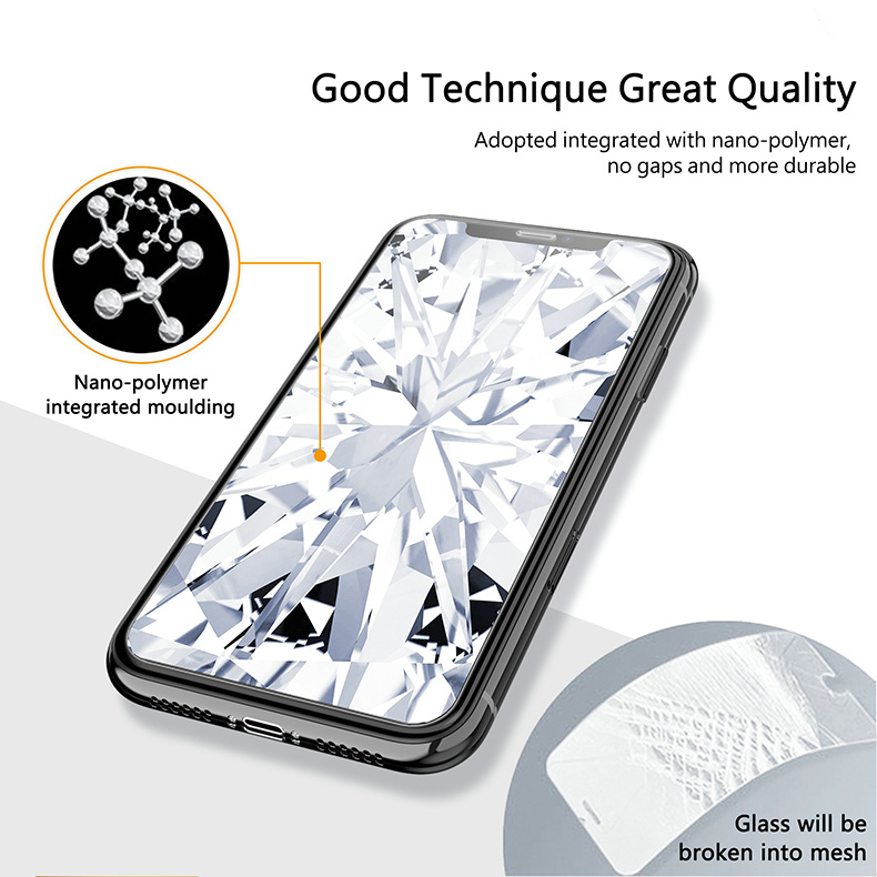 KINGXBAR for iPhone Xs Max Glass Full Protection for iPhone Xs Tempered Glass Screen Protector for iPhone Xs Max Protector Film (5)