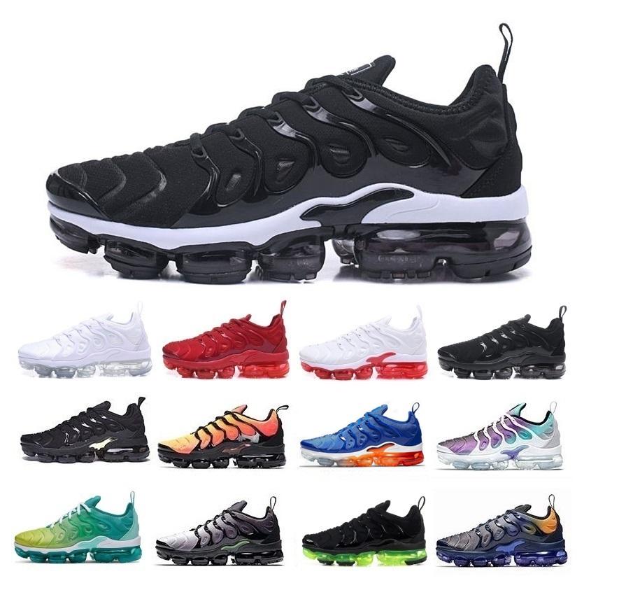 2020 tn chaussures pour hommes, plus concepteur hommes formatrices coussin d'air décontracté sport violet Zapatos bourdon en plein air vert noir